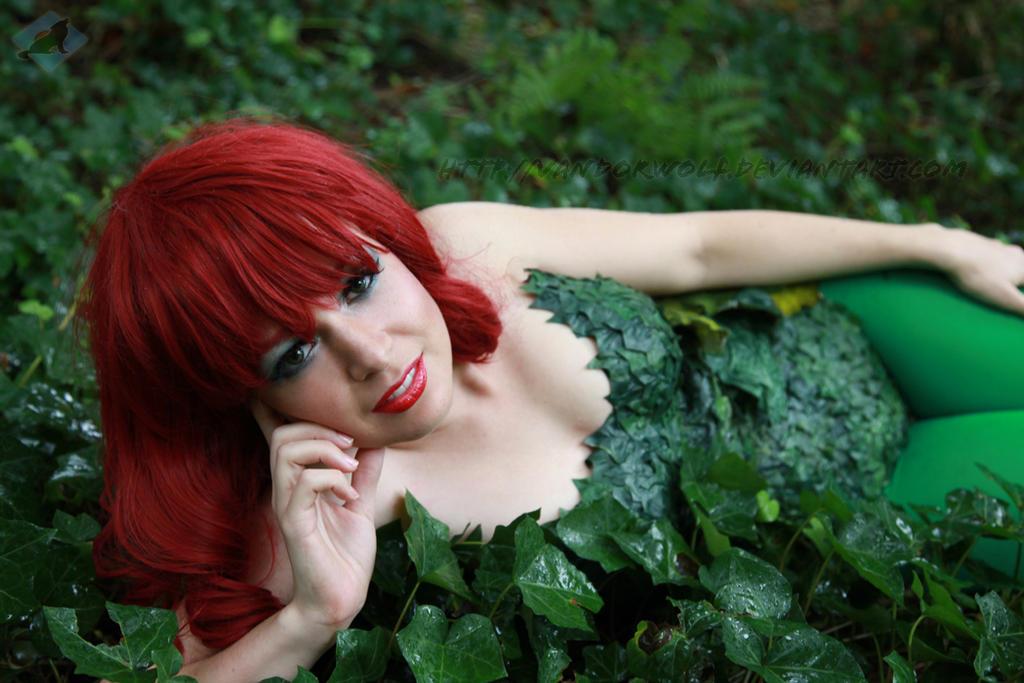 Poison Ivy of DC Comics by VandorWolf