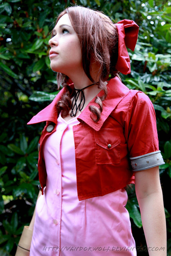 Final Fantasy VII- Aeris Gainsborough by VandorWolf