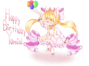 Happy Birthday Yamio!