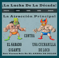 Lucha Poster by lcky13