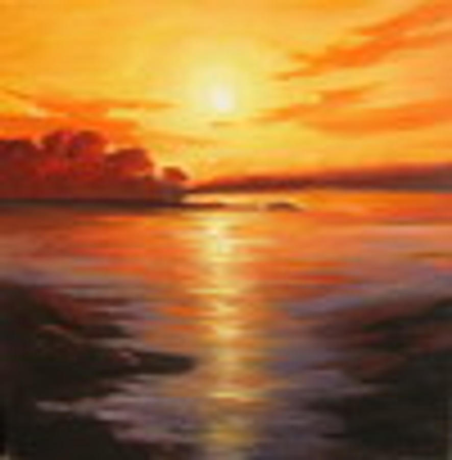 Sunset Or Sunrise By Bredereck