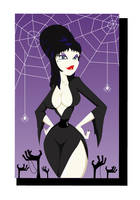 Elvira, Mistress of the Dark by Oddabeish
