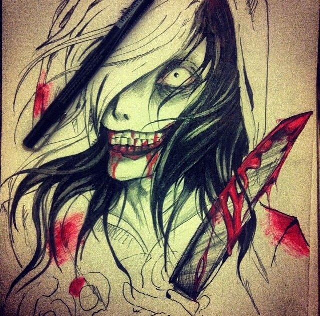 Jeff the killer (without finish) by enya96