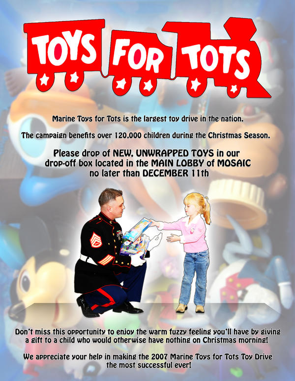Toys For Tots Flyer 2017 : Toys for tots flyer by l ki on deviantart