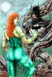POYSON IVY AND BATMAN