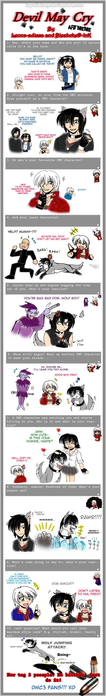 Devil May Cry Art Meme by krystlekmy