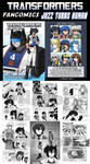 Transformers Fancomic +SOLD OUT+
