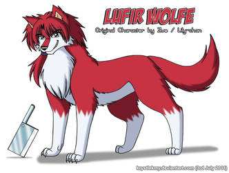 Lufir Wolfe for Zue by krystlekmy