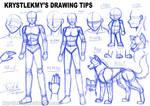 Krystlekmy's Drawing Tips