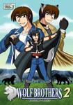 Wolf Brothers II Vol.1 Manga Cover by krystlekmy