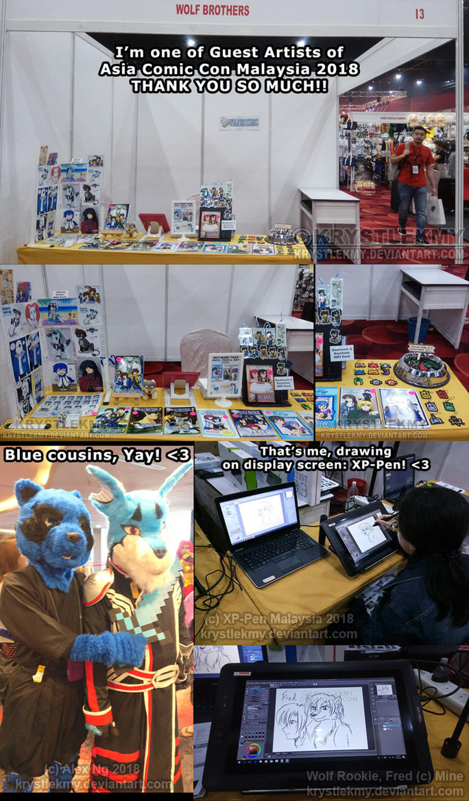 Wolf Brothers Booth at ACC 2018 - Thank you! by krystlekmy