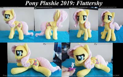 Pony Plushie - Fluttershy 01 by krystlekmy