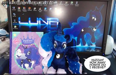 Pony Plushie - Princess Luna 02 by krystlekmy
