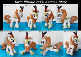 Kirin Plushie - Autumn Blaze 01