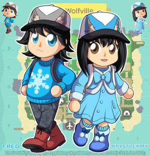 ACNH - Krystlekmy and Fred 01