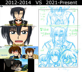 Wolf Brothers - 2012 vs 2021