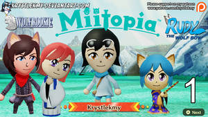 Miitopia - Me and my ocs  (Youtube Video)