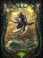 The Crystal Bearers: Aerendir the Wood Elf by Xarcahn