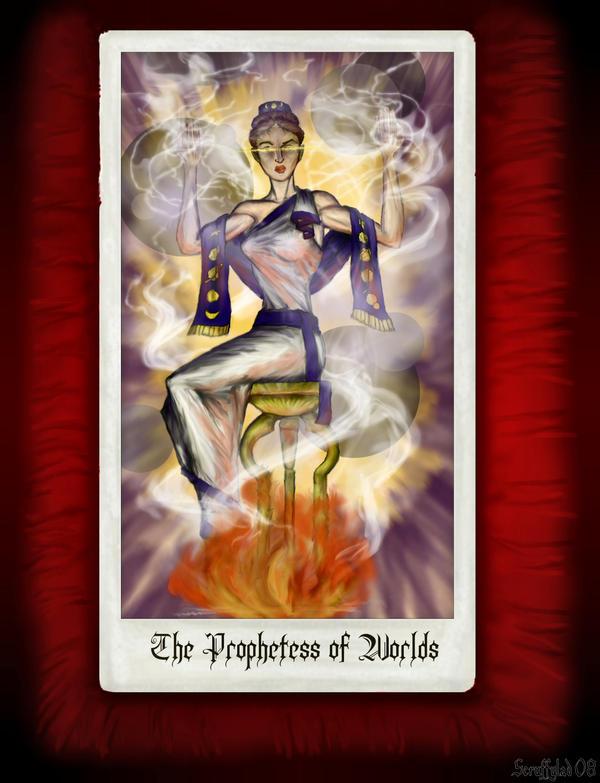 Prophetess of Worlds by ScruffyLad