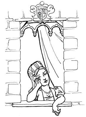 Woman at Window by ScruffyLad