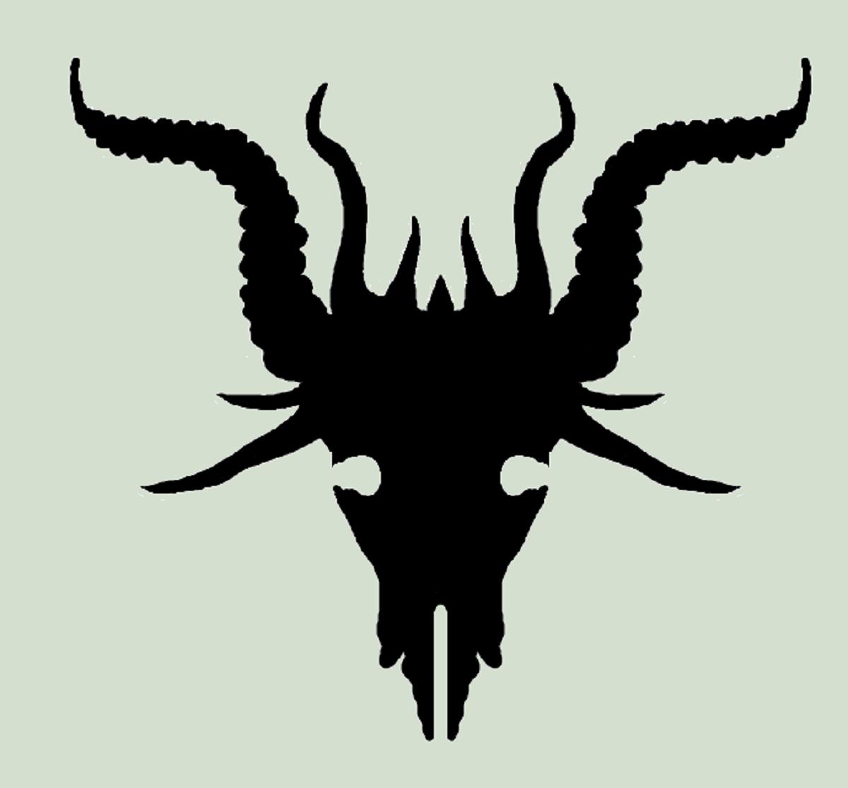 Demon Goat Skull by Reddrago0n on DeviantArt