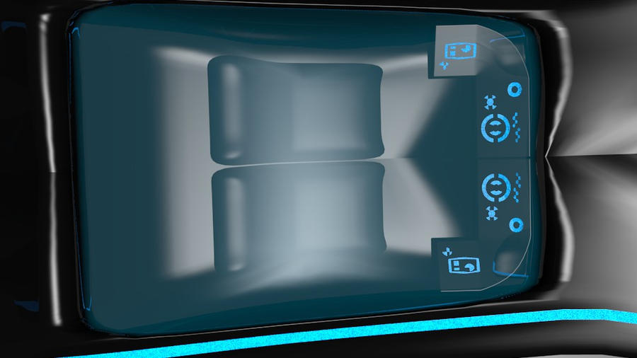 tron xenith car interior by trodag on deviantart. Black Bedroom Furniture Sets. Home Design Ideas