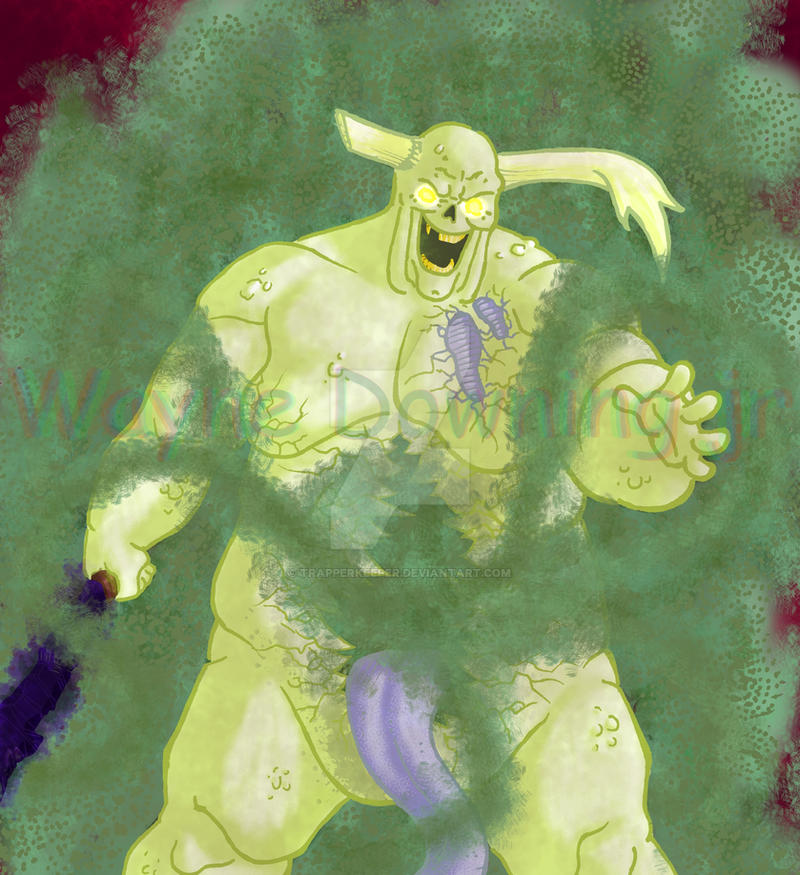 The Great Unclean One by trapperkeeper