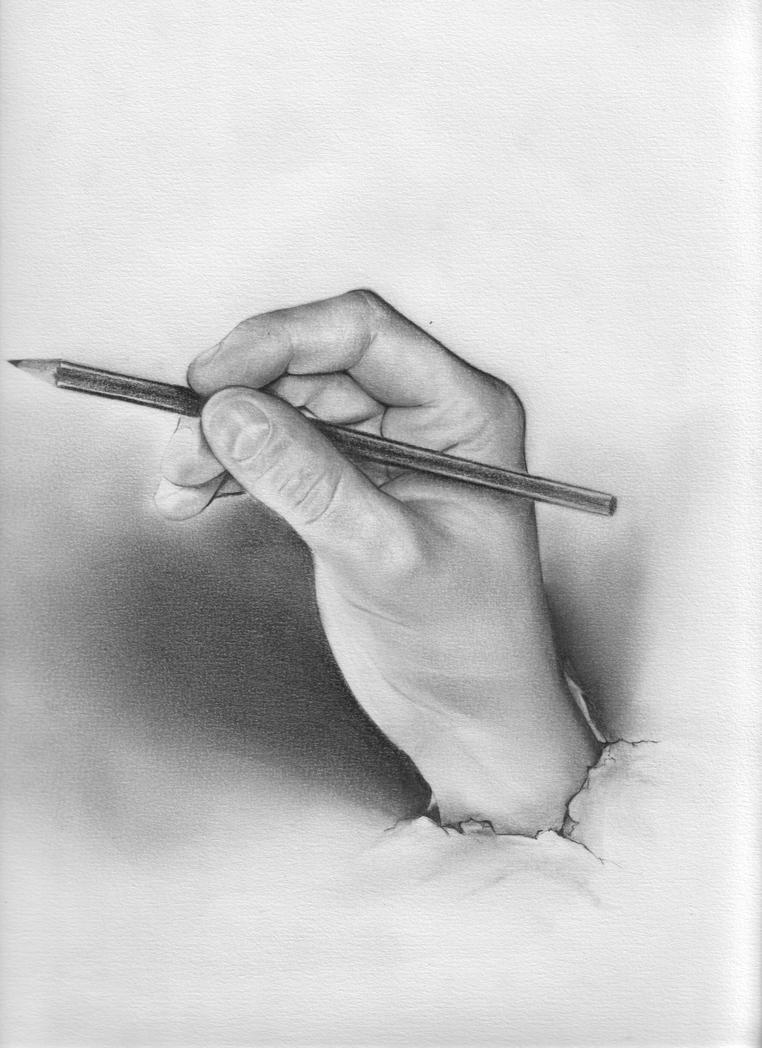Manos taringa - Main dessin crayon ...