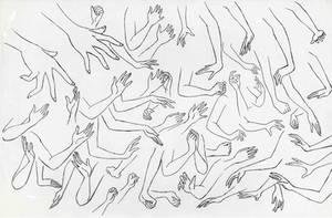Ariel's Hands by megsmakesart