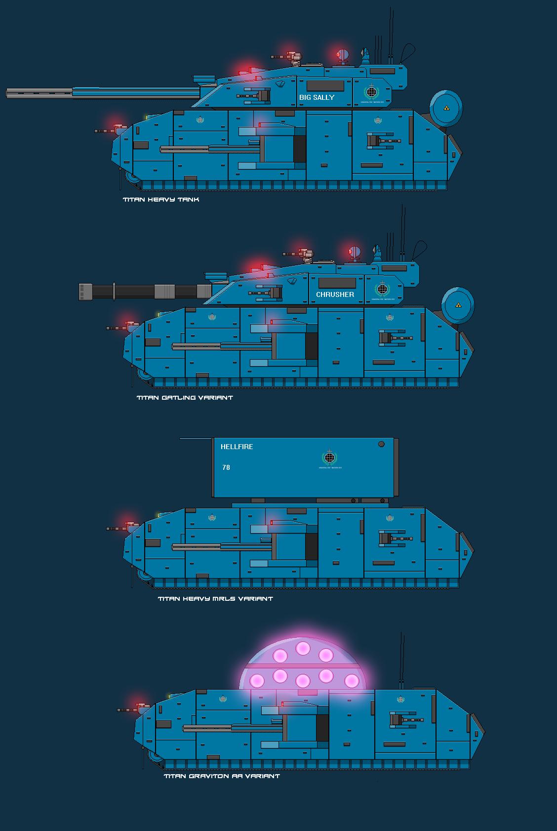 Titan Heavy Tank by EmperorMyric