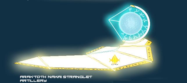Arak'Toth Nakai Stranglet Artillery by EmperorMyric