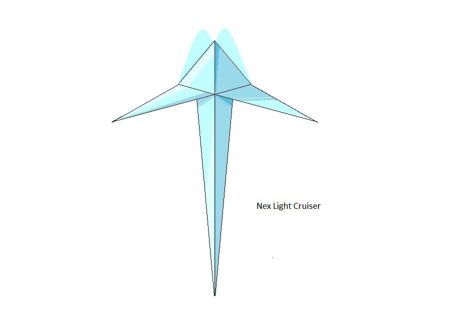 Nex Light Cruiser by EmperorMyric