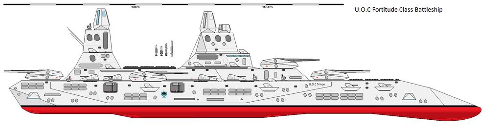 Fortitude class Battleship by EmperorMyric