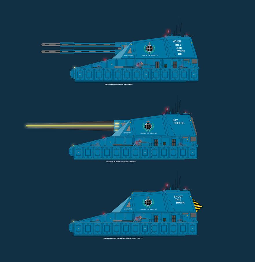 Oblivion UOW Ultra Heavy artillery by EmperorMyric