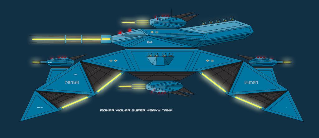 Violar Rokar Super Tank by EmperorMyric