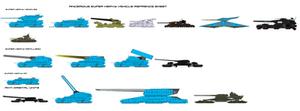 Ancerious Super Heavy vehicles Sheet