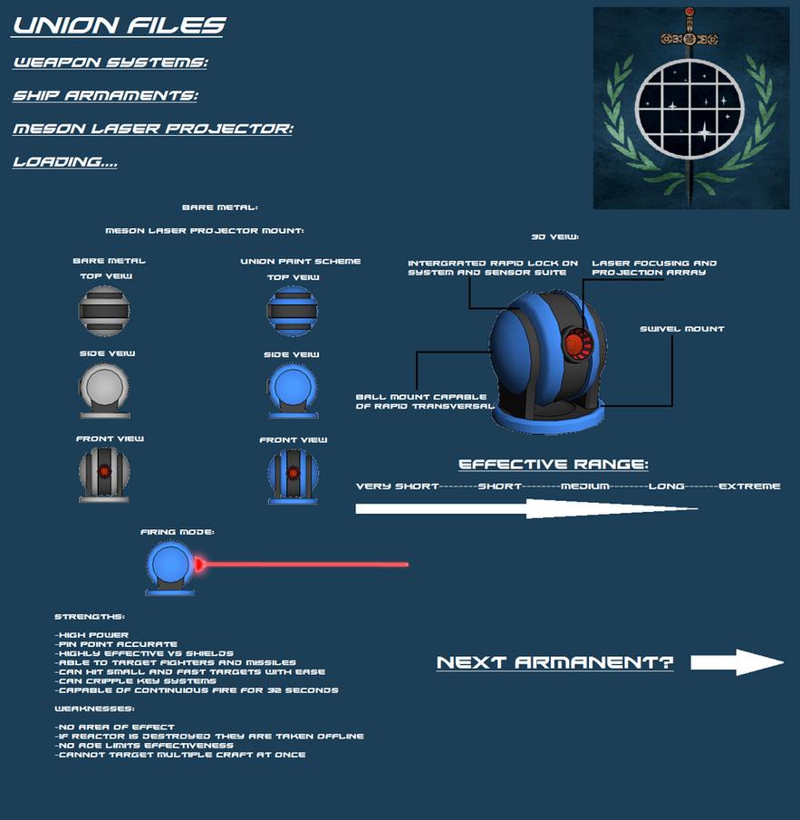 Meson Laser Projector by EmperorMyric