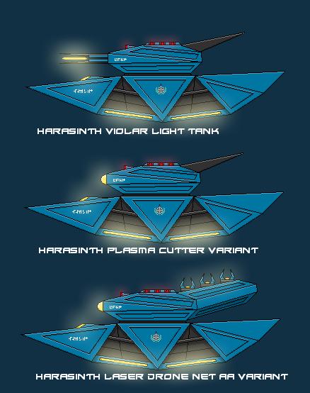 Harasinth Violar Light Tank by EmperorMyric