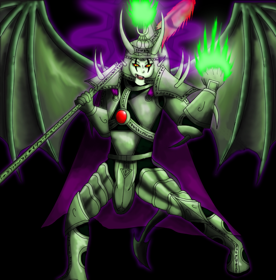 Sotek The Fallen Angel by EmperorMyric