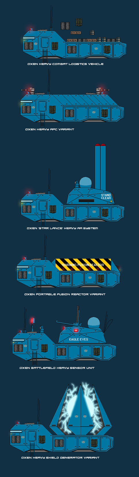Oxen Heavy Logistics Vehicle by EmperorMyric
