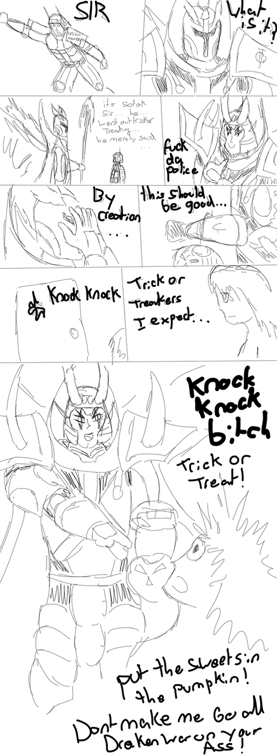 Trick or treat! by EmperorMyric