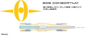 Bassilica Class Heavy Cruiser by EmperorMyric