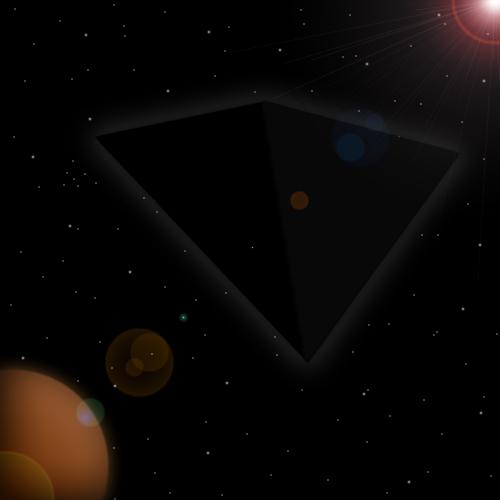 The Black Pyramid by EmperorMyric