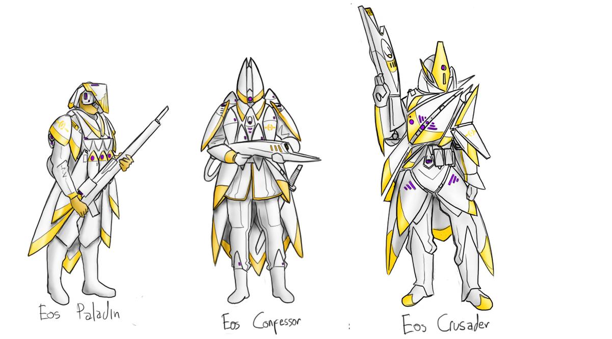 Eos Infantry by EmperorMyric
