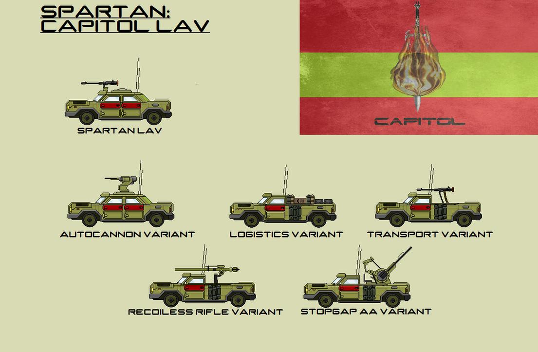 Spartan Capitol LAV by EmperorMyric