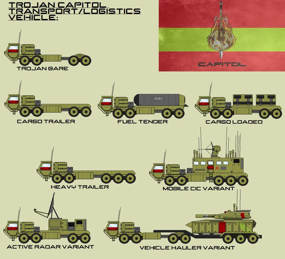 Trojan Capitol Logistics Vehicle by EmperorMyric
