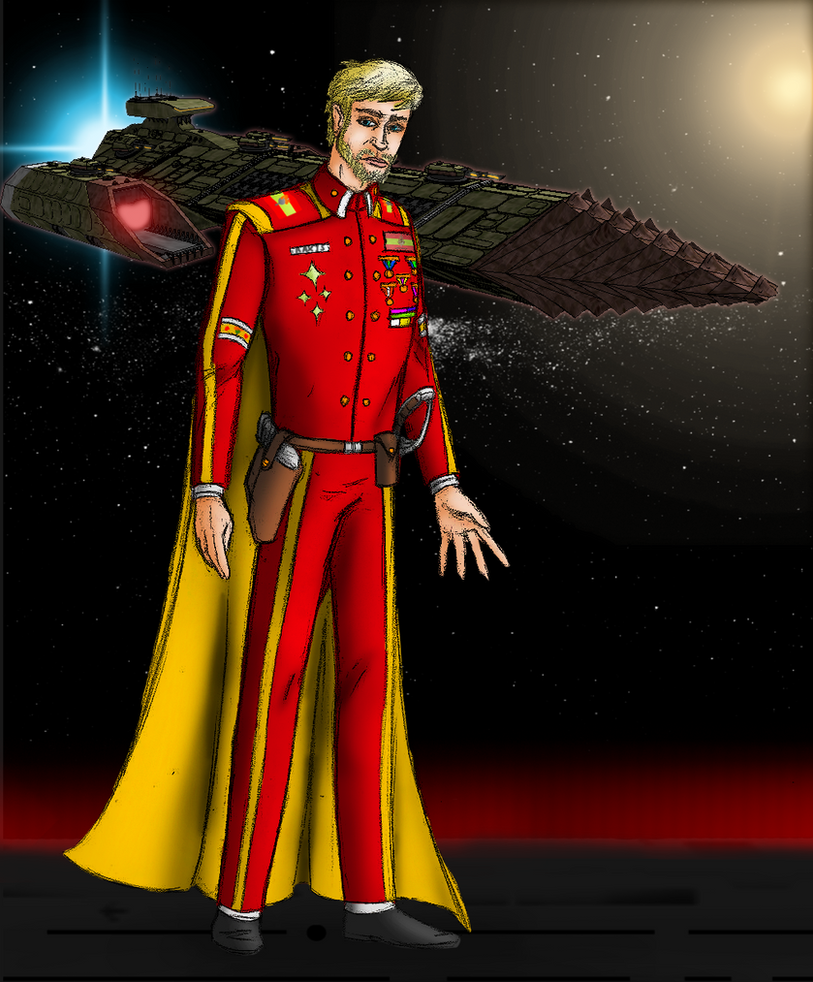 Grand Admiral Raxis Ortagian by EmperorMyric