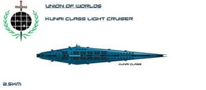 Union Kunai Class Light Cruiser