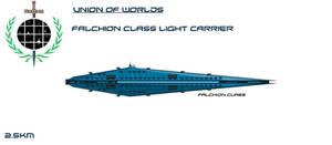 Union Falchion Class Light Carrier