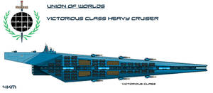 Union Victorious Class Heavy Cruiser by EmperorMyric